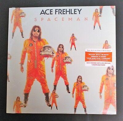 """Ace Frehley """"Spaceman"""" Orange Vinyl LP Indie Exclusive Sealed!"""
