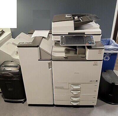 Reduced Ricoh Mp C4503 Mpc4503 Color Copier Print Scan Fax 45 Ppm
