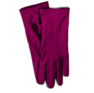 Gloves Adult Size Maroon Dress Up Theatrical Costume 1 Pair - Dress Up Gloves