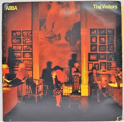 "ABBA ""The Visitors"" Atlantic SD 19332 US 1981 Vinyl LP"