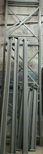 "Lyons Pallet Racking Storage Shelving (3)  36""x144"" Uprights & (6) 8"