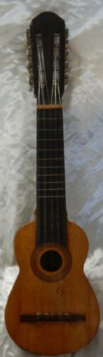 Vintage Traditional Charango Genuine Armadillo 10 string Instrument