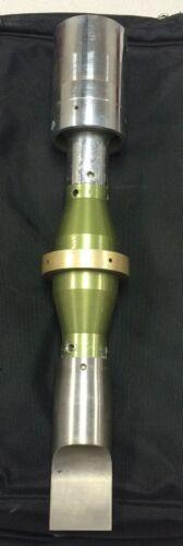 Branson Ultrasonic Converter sonotrode booster