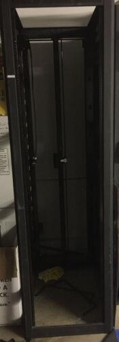 "Middle Atlantic Products WRK Series Rack, 44 RU, 32""D w/ Power Bar"