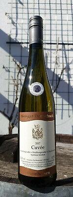 6x Cuvée Chardonnay Weiß- Grauburgunder Spätlese trocken Einzellage Silber