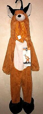 boys girls NEW NWT 18.24 month FOX HALLOWEEN COSTUME PLUSH 1 PC COMPLETE SUPER