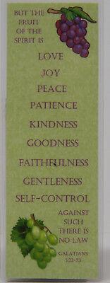 FRUIT OF THE SPIRIT - GALATIANS 5:22-23  BOOKMARK