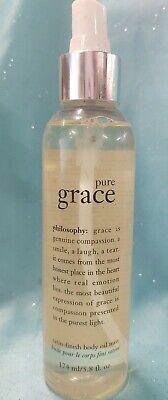 IMPERFECT Philosophy PURE GRACE SATIN FINISH BODY OIL MIST Perfumed Spray 5.8 oz