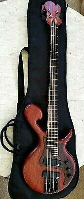 Custom 4 string Bass Guitar by Badger Basses