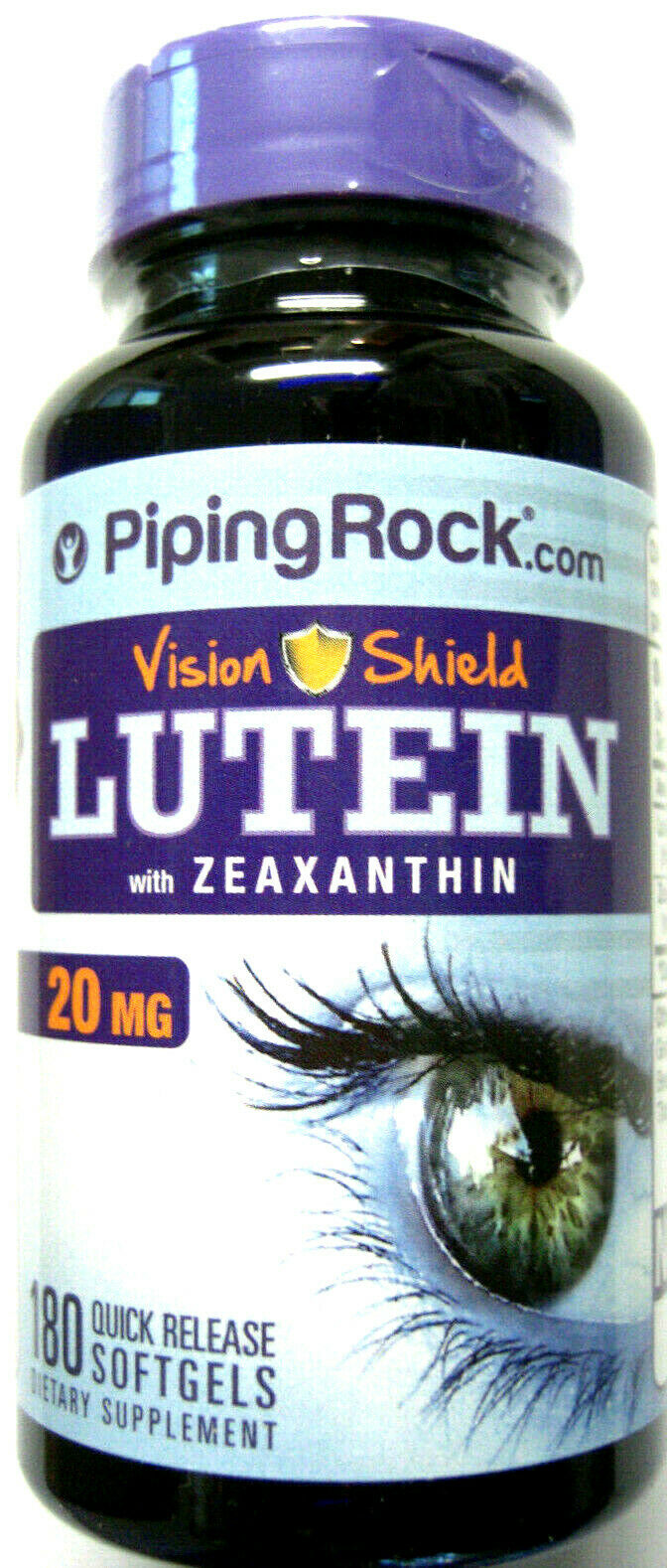 Lutein 20Mg + Zeaxanthin Vision Shield Eye Health Pills 180