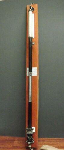Barometer [ Fortin Barometer ] Darton [ No: 716 ] Brass Tube [ Meteorology ]