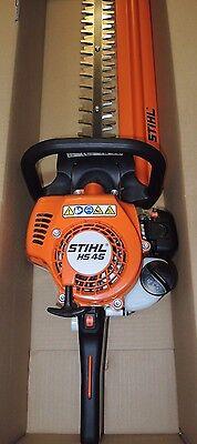 Stihl HS 45 HS45 Benzin Heckenschere mit 600mm Messer  NEU
