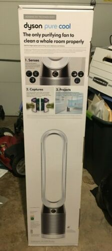New Sealed Dyson Pure Cool Link Air Purifier & Tower Fan - White/Silver 31012401