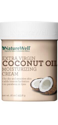 Naturewell Extra Virgin Coconut Oil Moisturizing Cream, 16 o