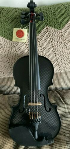 CARBON COMPOSITE ACOUSTIC ELECTRIC VIOLIN 5 STRING - Black