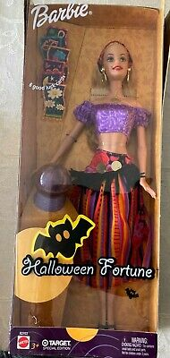 NEW Barbie Halloween Fortune Doll Gypsy 2003 Target Special Edition B2703