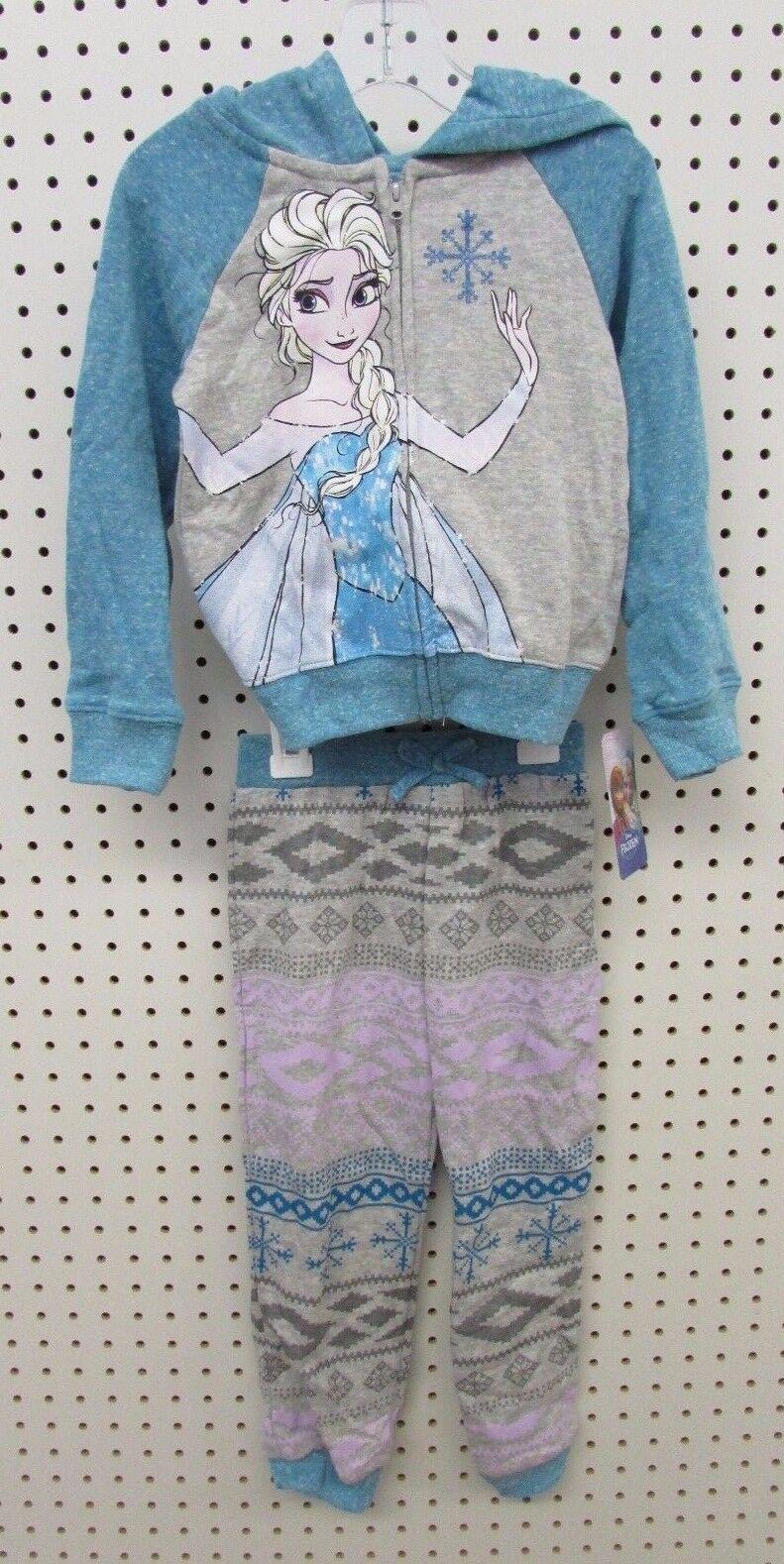Disney Frozen's Elsa - Size: 4T Toddler Girl's  2-Piece Jogg