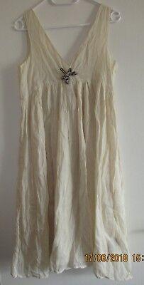 id Sun Dress Kleid für Mädchen, mit Brosche Neu mit Etikett (Antike Kleider Für Mädchen)