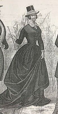 MUSEE DES MODES SEWING PATTERN  April 1849- AMAZONE riding COSTUMES LADIES & MEN