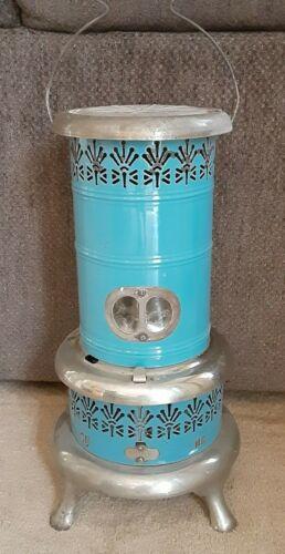 Vintage Blue Kerosene Heater includes Tank Burner and Handle