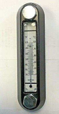 Hydraulic Tank Reservoir Liq. Level Sight W Thermometer