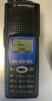 Motorola Xts5000 Model Iii 700 800 Mhz Police Fire Ems Radio H18uch9pw7an