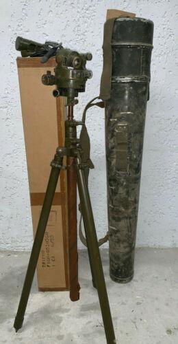 US M1 Aiming Circle M5 Tripod Carrying Case M6A1 Light instrument M2 1943