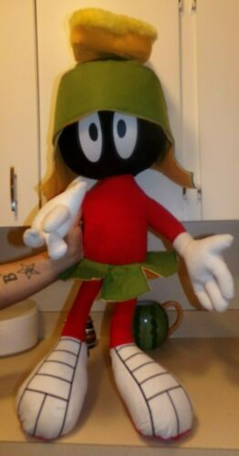"Vintage 38"" Warner Bros Looney Tunes MARVIN THE MARTIAN Play by Play Plush Rare."