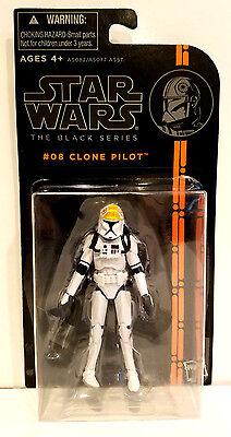 Star Wars The Black Series #08 Clone Pilot 3.75
