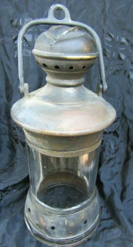 PERKINS MARINE LAMP MADE IN BROOKLYN NEW YORK SOLID BRASS