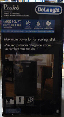 De'Longhi Pinguino Portable Air Conditioner 14,000 BTU White PAC CN140E Portable