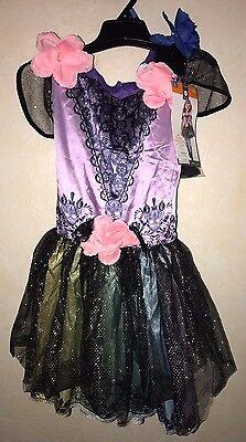 girls NEW NWT large SUGAR SKELETON HALLOWEEN COSTUME DRESS LEGGINGS MASK 10/12 @ - Girls Skeleton Leggings