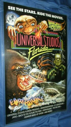 UNIVERSAL STUDIOS 2021 Exclusive Poster/Print ~Frankenstein/Jaws/King Kong/ET +