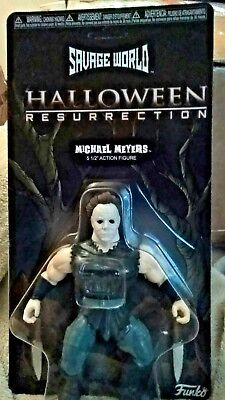 Michael Myers Halloween Pics (Halloween Michael Myers Funko Savage World Action Figure *BRAND NEW SEE)