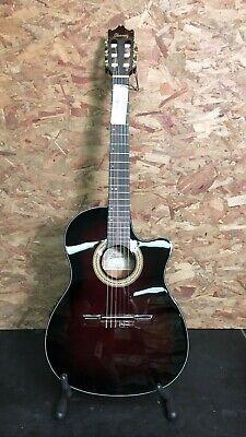 Ibanez GA35TCE-DVS Dark Violin Sunburst Nylon Electro Acoustic Guitar 25469