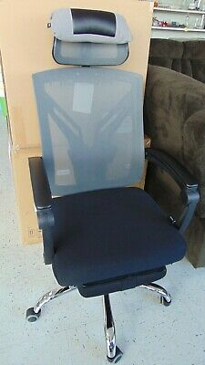 Hbada Ergonomic Office Recliner Chair High-back Desk Chair With Foot Rest