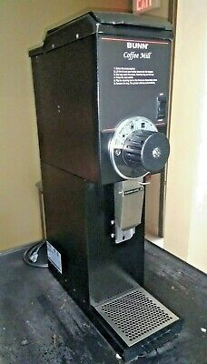 Sale Price Bunn G3 Hd Black Commercial 3 Lb Coffee Grinder Sanitized 7940