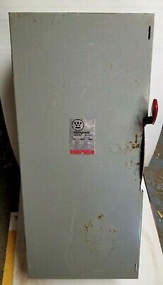 200 Amp Disconnect 1 Phase Single Throw Fusiblewestinghouse