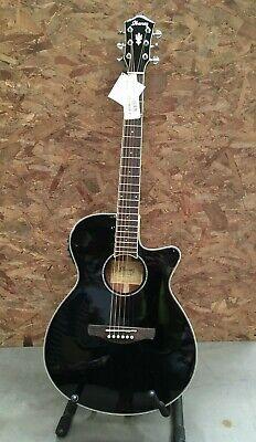 Ibanez AEG10II-BK AEG Electro Acoustic 6 Steel String AEG Guitar Black 21117