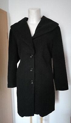 Damen Mantel Bpc. Selection Gr. 50/52 Wollmantel Trenchcoat