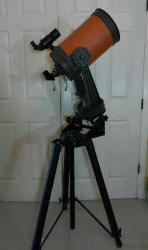 Vintage Celestron C8 Telescope Orange Tube - 8 inch