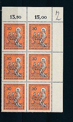 Katholikentag 1966** Plattenfehler retuschierte Bogenecke geprüft (S11692)