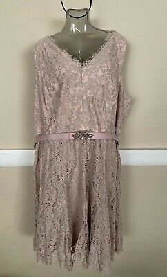 Jessica Howard Lace Fit & Flare Formal Dress Plus Size 24W NWT$160 JH7W2949 Jessica Howard Formal Dresses