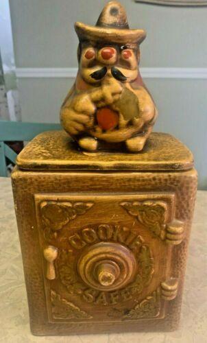 RARE California Originals - Sheriff Winking Safe Cookie Jar