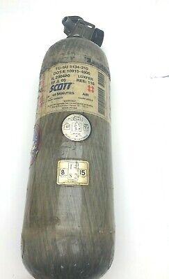 Scott Scba 45 Min Carbon Bottle Cylinder Pak Tank 4500 Psi 2005 For Air Rifle