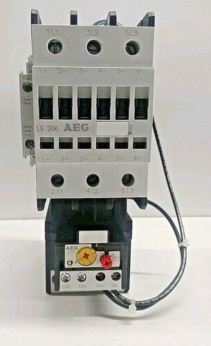 NEW IN BOX! AEG 30-43 AMP 20HP/200V-50HP/600V MAX MOTOR STARTER XLS30K-EO-Q
