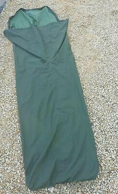 GENUINE BRITISH ARMY GORETEX OLIVE GREEN BIVI BAG - SLEEPING BAG COVER CAMPING