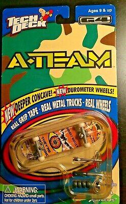 Vintage A-Team Tech Deck Skateboard Generation 4 Unopened! RODNEY MULLEN!