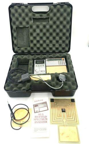 Biofield SE-5 Spectrum Analyzer with Sharp PC-1262 Pocket Computer VERY RARE