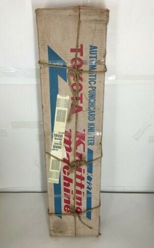NEW OLD STOCK Toyota Knitting Machine K727